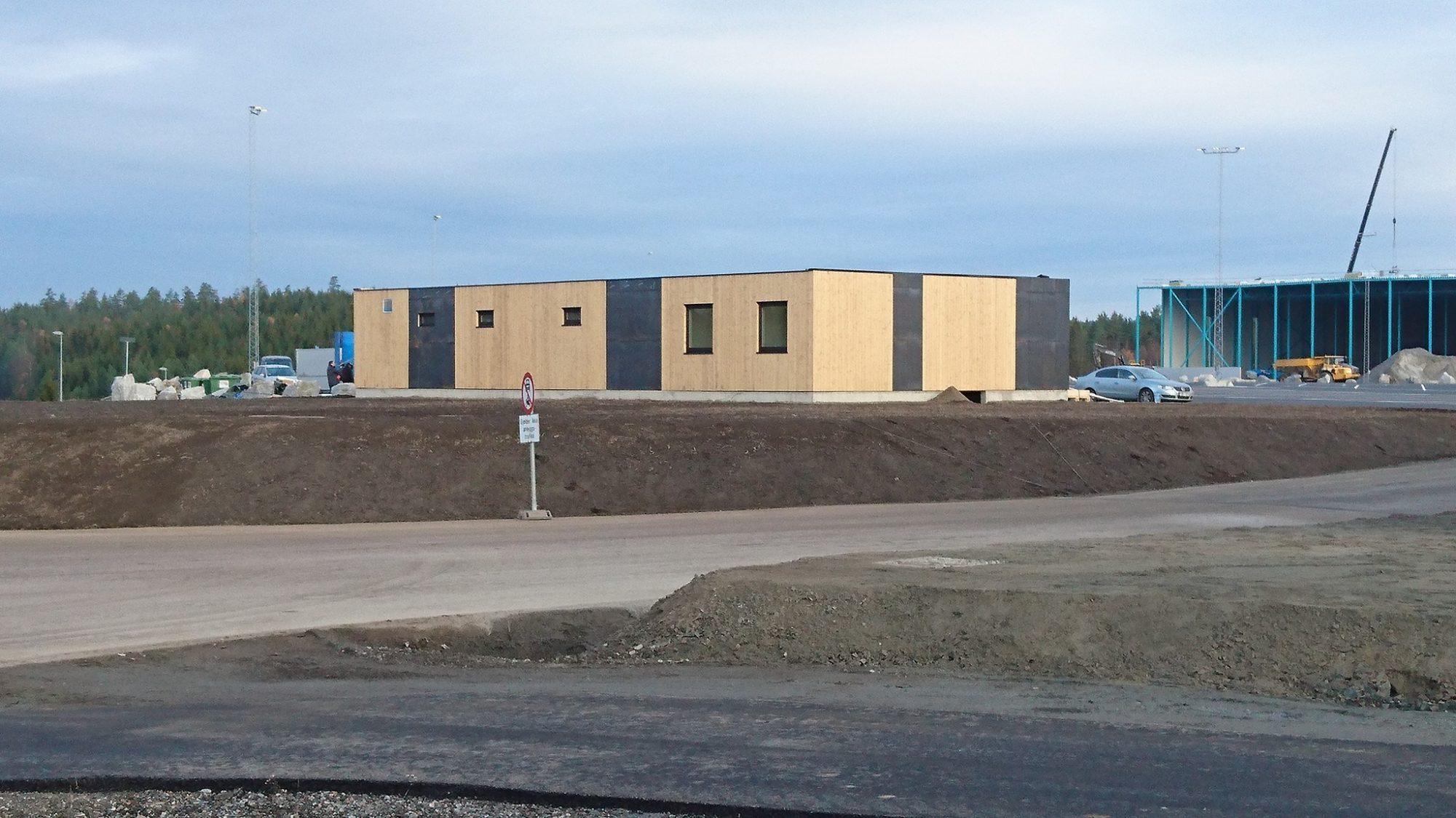 Sanitærbygg til Norges største hvileplass