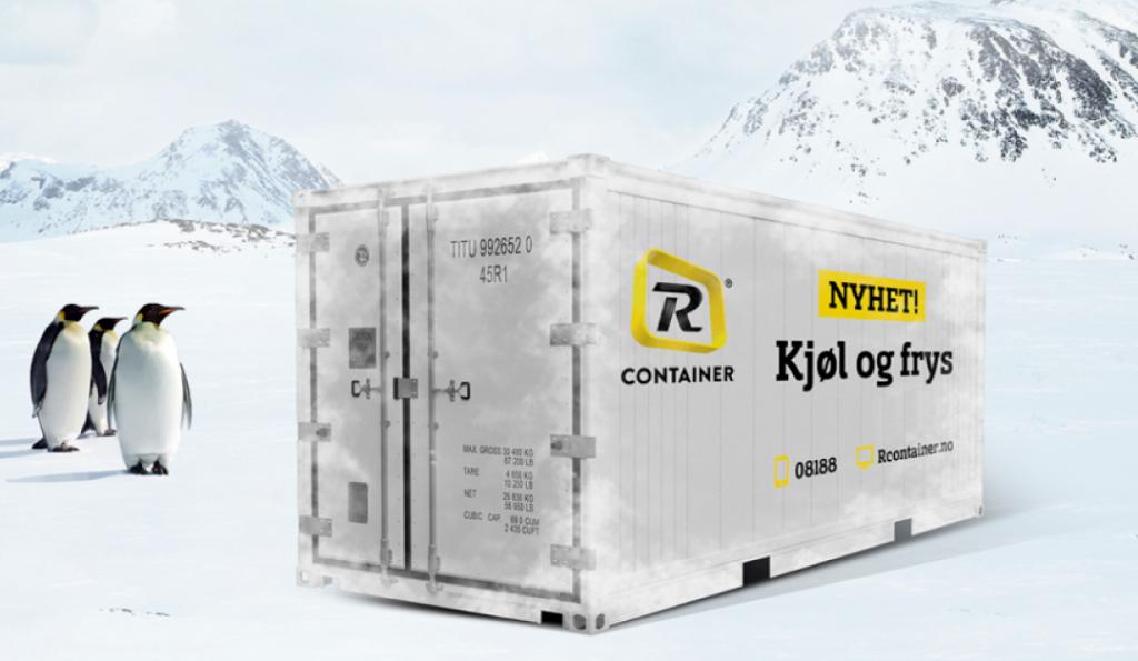 frysecontainer reblock frakte kjølig last