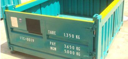 10′ Halvhøy Åpen Topp Offshore Container 5T PLT-322