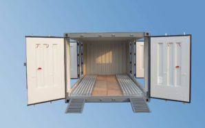 20 fot container til biltransport