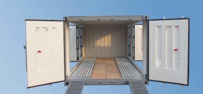 20′ Biltransportvogn Container