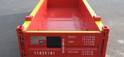 20′ Halvhøy Åpen Topp Offshore Container 15T PLT-320