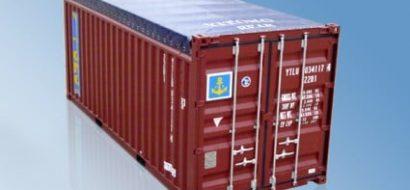 20′ Tørrlastcontainer med Åpen Topp