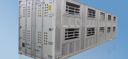 40′ HC Aluminium Container for Dyr