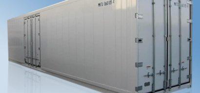40′ HC Japansk Innenlands Kjølecontainer i Stål med Sidedør