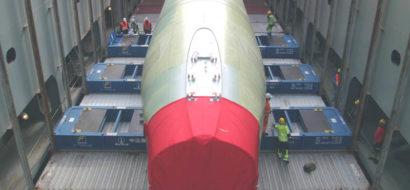 40′ Plattformer for Deler til Airbus 380 Fly