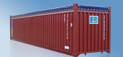 40′ Tørrlastcontainer med Åpen Topp