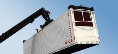 41′ Overbredde Kjølecontainer i Stål med Beskyttelsesramme