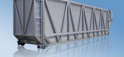 45′ Australias Aluminium Container for Sukkerrør