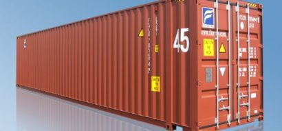45ft ISO Tørrlastcontainer