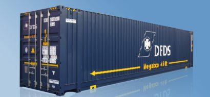 45′ Pallebrede Containere