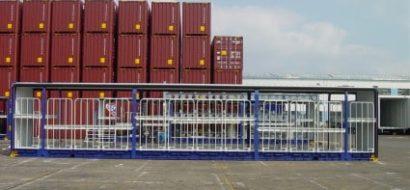 48′ Gardinsidecontainer