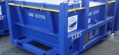 6T Lukket Offshore Avfall Skip PLT-195