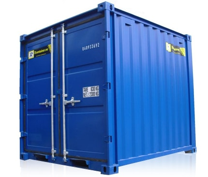 8 fot lagercontainer