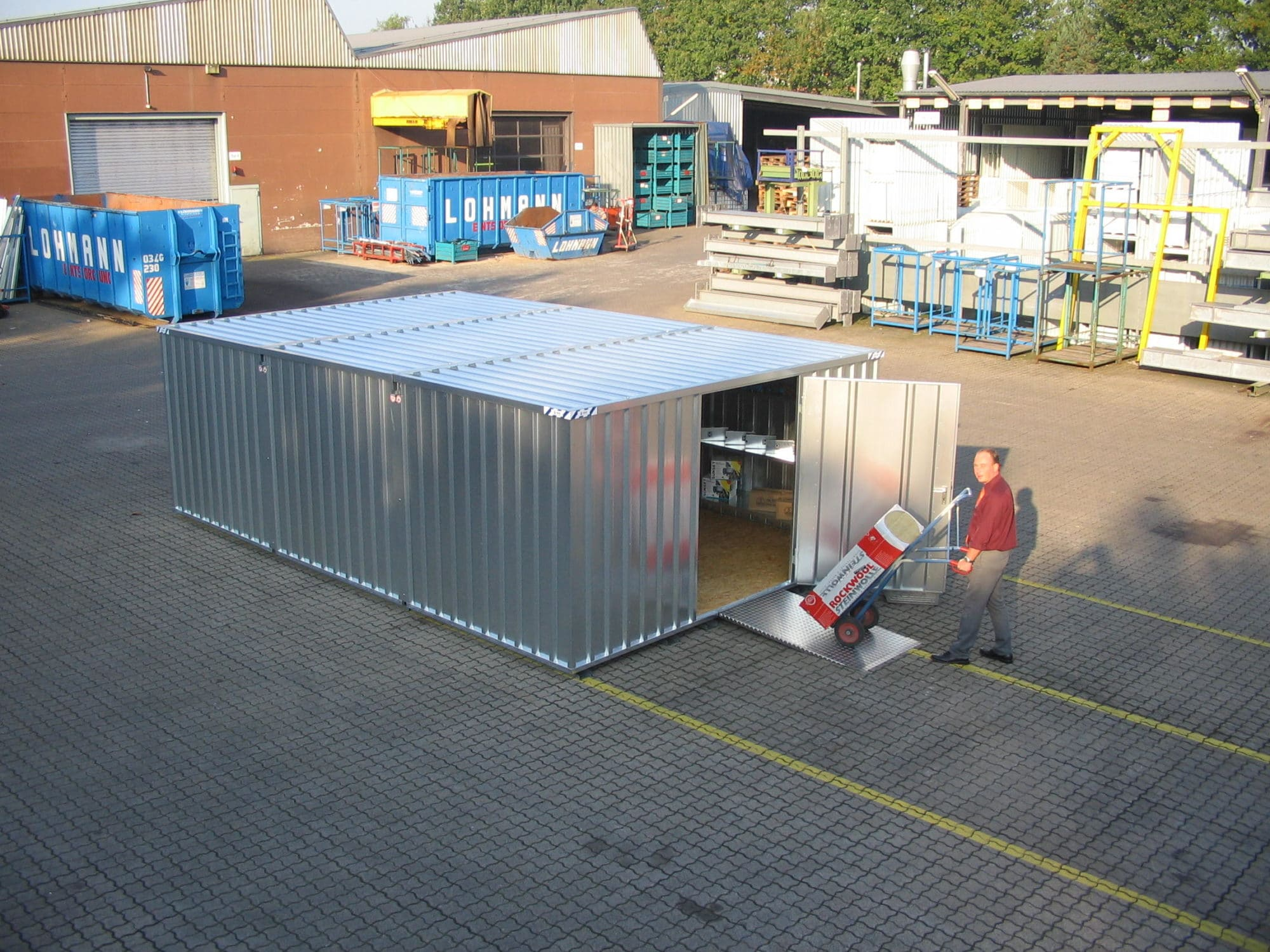 Quick-Build Container Combination SCC 3×4 m