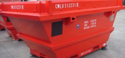 Åpen Topp Offshore Avfall Skip PLT-341