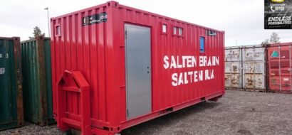 Spesial branncontainer for brannvesen