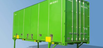 Din Leg Serie 2 Vekselflakcontainer