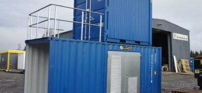 Spesialtilpasset miljøcontainer