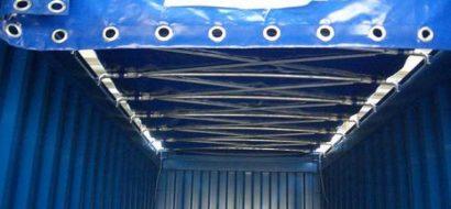 Glidende Topp Container Korea