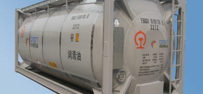 Lett Oljetankcontainer for Kinesisk Jernbane