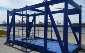 offshore-frames containere