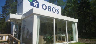 Levering av visnings-bygg til OBOS