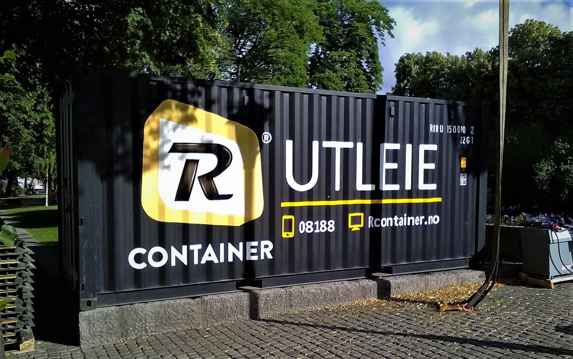 Utleie av containere til Den Norske Turistforening (DNT)