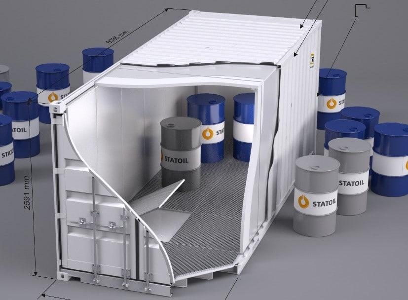 miljøcontainer til salgs, leie og leasing