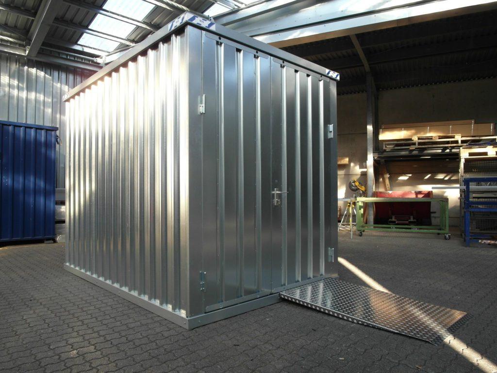 Quickbuild container inne på lager