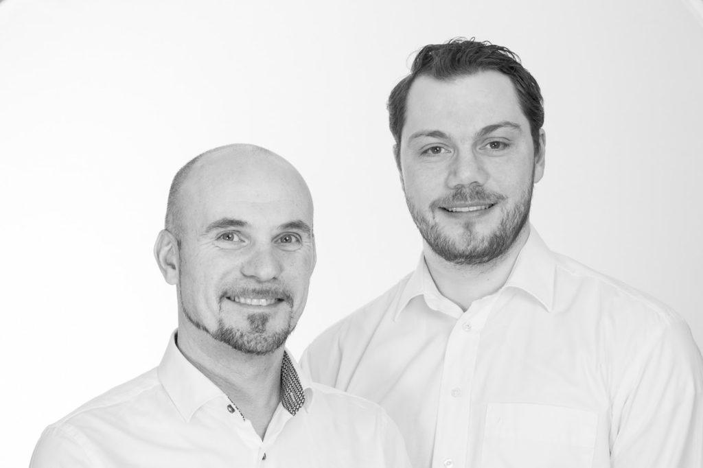 Gründer Richard Anfinsen Sandvik og Daglig leder Senol Kamburce