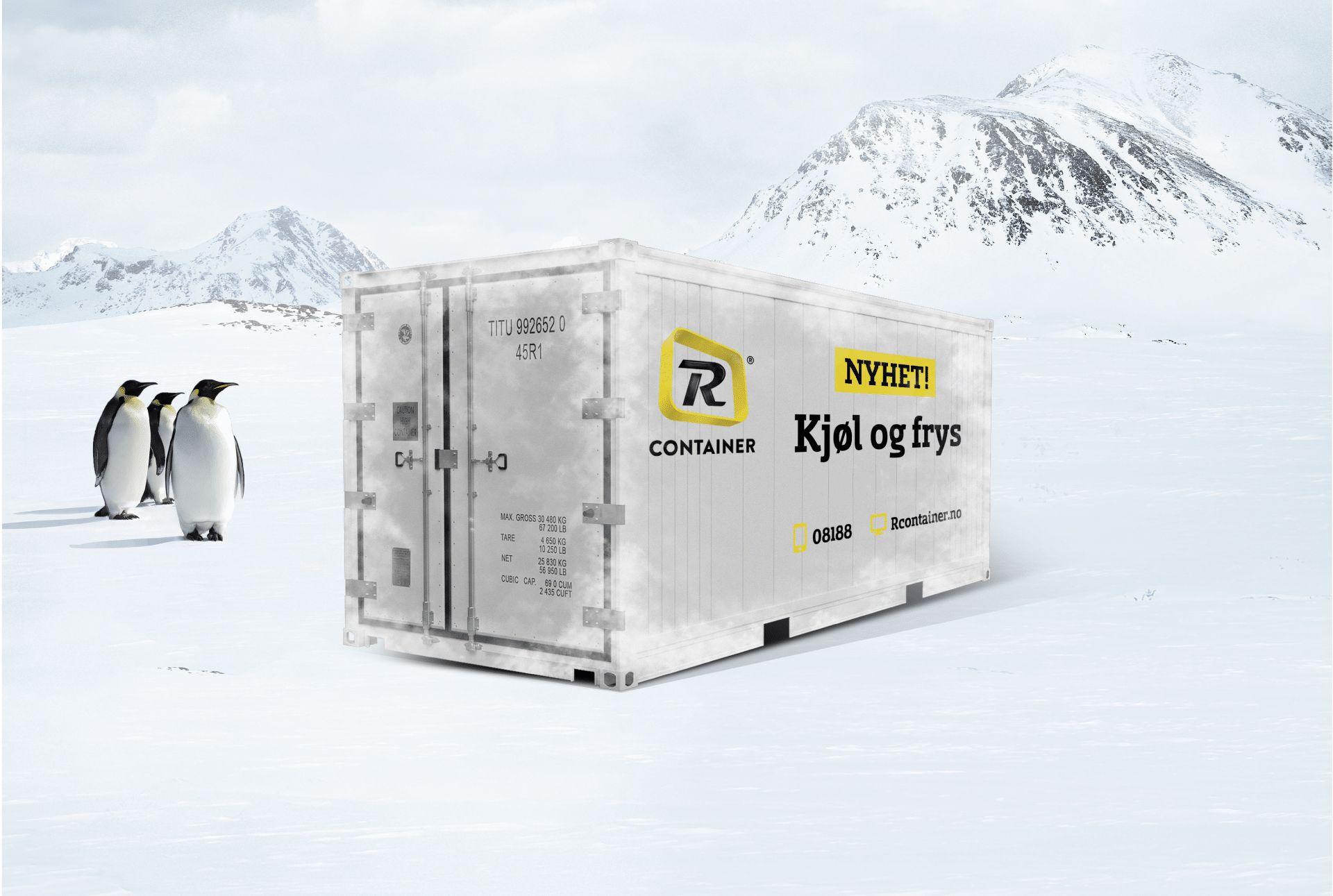 Kjøle- og frysecontainere
