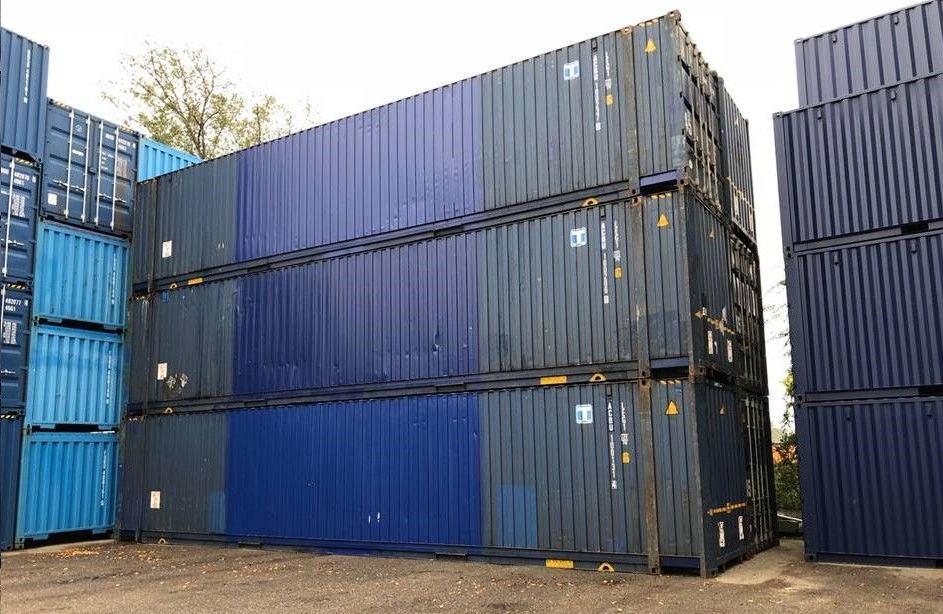 Brukte containere til salgs