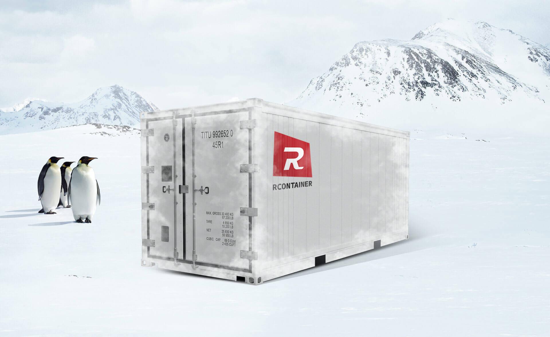 Mega kjøl/frys/varme-container