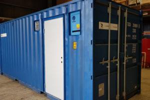 Supertilbud på 20 fots isolert container